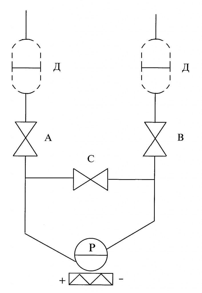Монтажная схема преобразователя ДД