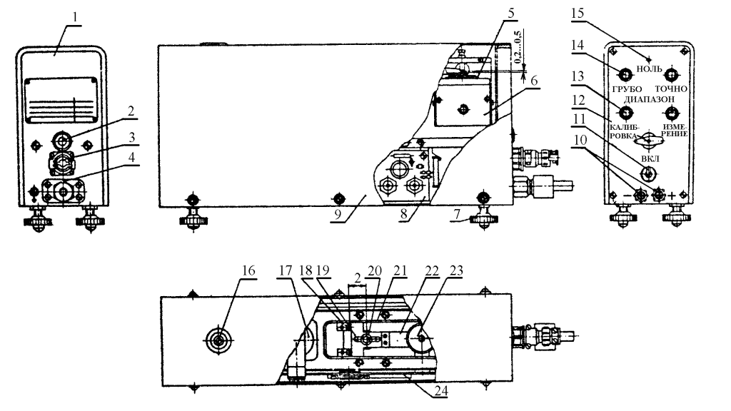 Рисунок 3. Преобразователь давления измерительный ИПД модели 89006