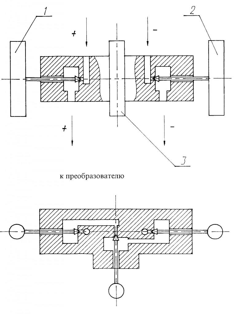 Схема клапанного блока САПФИР-22МТ