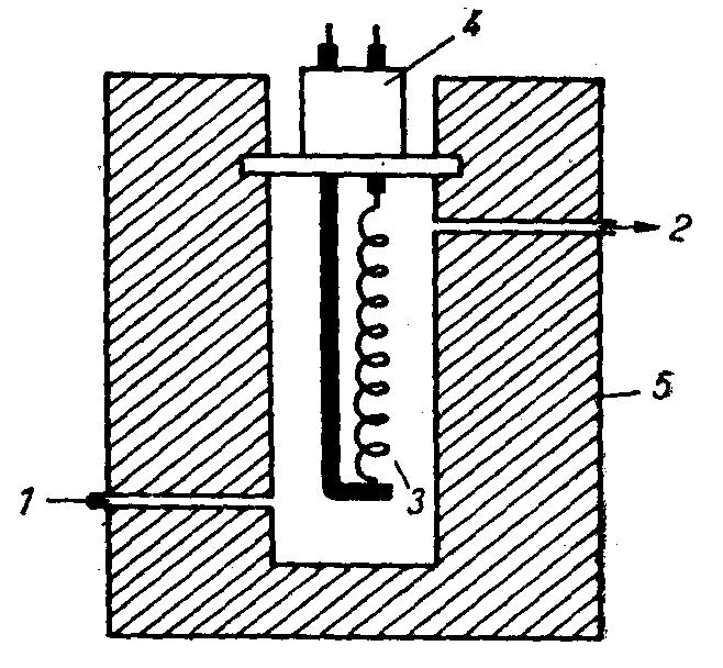 Схема катарометра