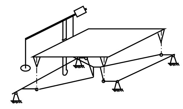Кинематическая схема гирных весов