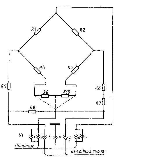 Схема электрическая принципиальная преобразователя ДЭДВУ