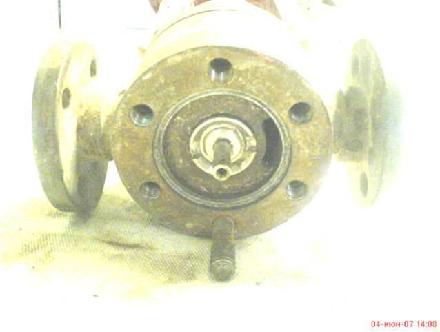Корпус исполнительного устройства клапана