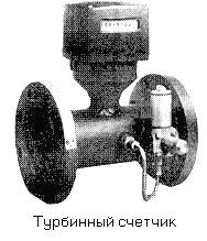 Счетчик турбинный