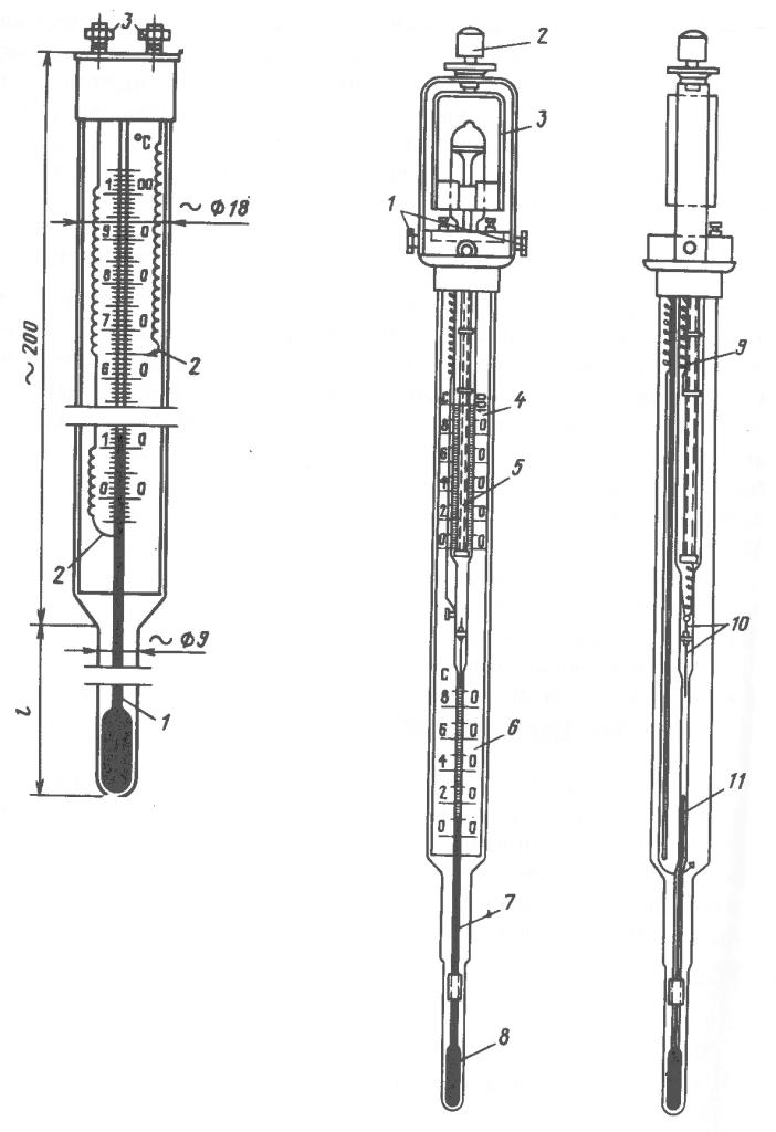 Электроконтактные термометры